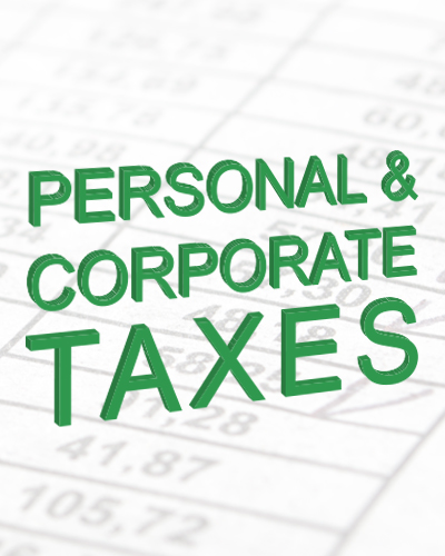 corporate and personal taxes in Bowness Calgary